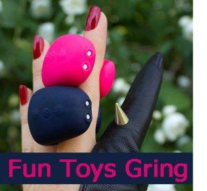 НОВИНКА! Мини-вибратор на палец Fun Toys Gring