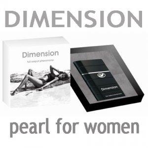 Новинка! DIMENSION pearl for women. Композиция женских феромонов