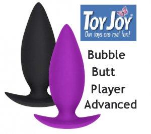 Анальная пробка Bubble Butt Player Advanced