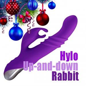 Новинка! Hylo Up-and-down Rabbit - Вибратор с возвратно-поступательным движением.