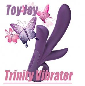 Вибратор для тройного удовольствия Trinity Vibrator