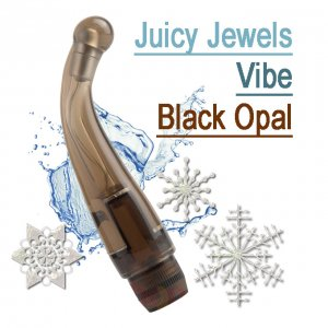Вибратор для точки G Juicy Jewels Vibe Black Opal