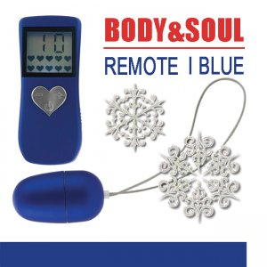 Вибропуля Body&soul Remote I Blue