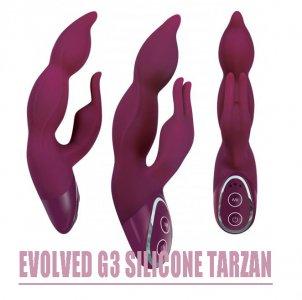 НОВИНКА ! Вибратор-кролик -- Evolved G3 Silicone Tarzan