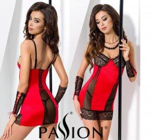 АКЦИЯ!!! Комплект нижнего белья RODOS CHEMISE red S/M - Passion