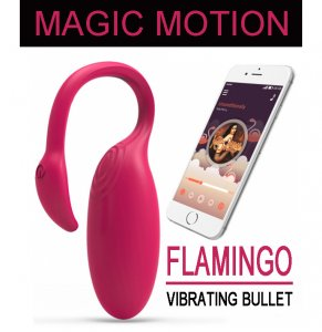 НОВИНКА! Вибратор Magic Motion - Flamingo Vibrating Bullet