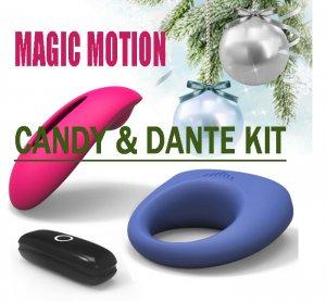 Новинка! Элегантный дуэт наслаждения для любовной пары -  Candy & Dante Kit.