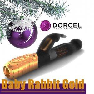 НОВИНКА! Вибратор Dorcel Baby Rabbit Gold