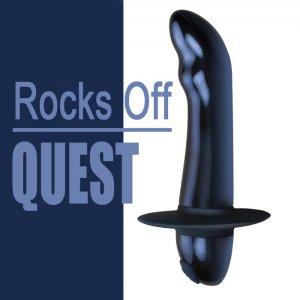 Массажер простаты Rocks Off Quest Blue
