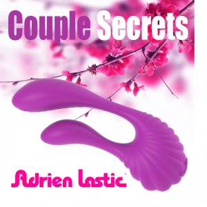 Вибратор Adrien Lastic Couple Secrets с пультом LRS