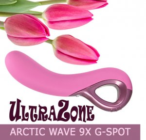 Вибратор UltraZone Arctic Wave 9X