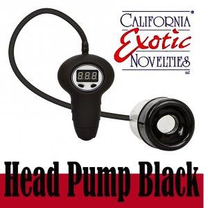 Автоматическая вакуумная помпа Head Pump Black