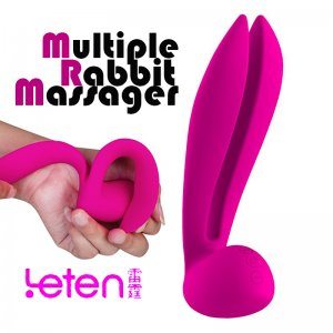 Вибратор Leten Multiple Rabbit Massager