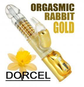 Вибратор Dorcel Orgasmic Rabbit Gold