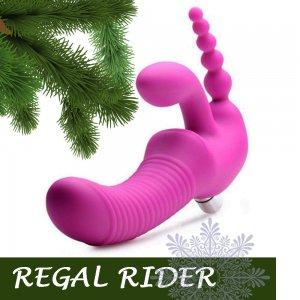 Женский страпон Regal Rider Vibrating