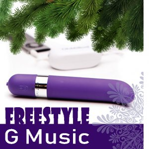 Музыкальный вибратор OhMiBod – Freestyle G Music Vibrator Purple