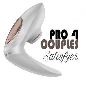 Вакуумный вибратор Satisfyer Pro 4 Couples