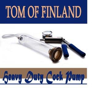 Вакуумный массажер для пениса Tom of Finland.