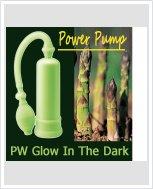 Светящаяся вакуумная помпа - PW Glow In The Dark