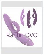 Универсальный женский вбратор Rabbit OVO - K1