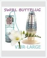 Анальный вибратор - Vib-rlarge Swirl Buttplug