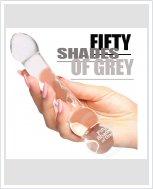 Cтеклянный фаллоимитатор Fifty Shades of Grey