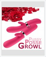 Секс вибратор Pussy Posse Growl