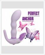 Новинка! Вибратор для тройной стимуляции Perfect Anchor