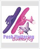 Водонепроницаемый вибратор Posh Fluttering Butterfly