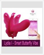 Стимулятор для клитора Realov Lydia I - Smart Butterfly Vibe