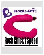 Универсальный секс-вибратор  Rocks-off Rock Chick 7 Speed