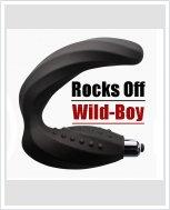Массажер простаты Rocks Off Wild-Boy Black