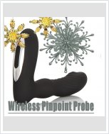 Массажор простаты Wireless Pinpoint Probe
