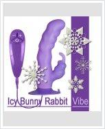 Вибратор кролик на присоске Icy Bunny Rabbit Vibe