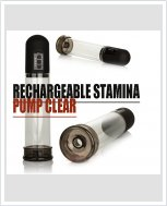 Автоматическая вакуумная помпа Rechargeable Stamina Pump Clear