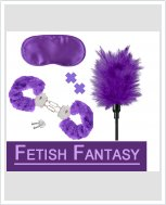 Набор секс-аксессуаров Fetish Fantasy Purple Passion