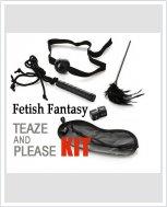 Набор BDSM аксессуаров Fetish Fantasy  Teaze And Please Kit