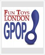 НОВИНКА! Анатомический вибратор унисекс Gpop FT London