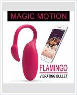 НОВИНКА! Вибратор Magic Motion - Flamingo Vibrating Bullet