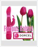 Многофункциональный секс-вибратор Dorcel Furious Rabbit