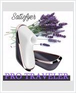 Вакуумный клиторальный стимулятор Satisfyer Pro Traveler