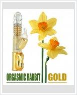 Вибратор Dorcel Orgasmic Rabbit Gold