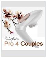 Вакуумный вибратор для пар Satisfyer Pro 4 Couples