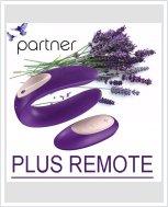Вибратор для пар Partner Plus Remote