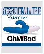 Музыкальный вибратор OhMiBod - Freestyle :W Music