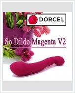 Универсальный фаллоимитатор Marc Dorcel So Dildo Magenta V2