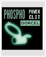 Эрекционное кольцо Dorcel Power Clit White PHOSPHO