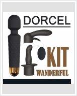 Вибромассажер Dorcel Kit Wanderful с насадками