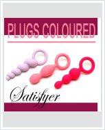 Набор анальных пробок Satisfyer Plugs coloured