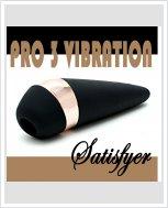 Вакуумный клиторальный стимулятор Satisfyer Pro 3 Vibration